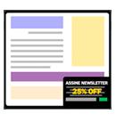 Banner deslizante para ofertas e newsletter na criação do seu site